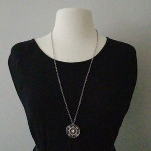 Jewelry - NWT* Long Silver Pendant Necklace